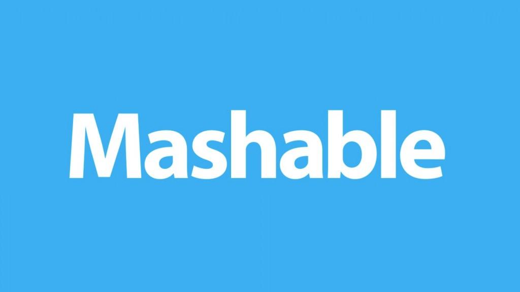 Mashable website runs on WordPress